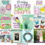 Fun Easter Cricut Crafts