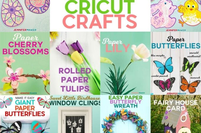 Fun Easter Cricut Crafts