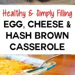 Healthy Egg, Cheese & Hash Brown Casserole is 100% Simply Filling on Weight Watchers! | JenuineMom.com