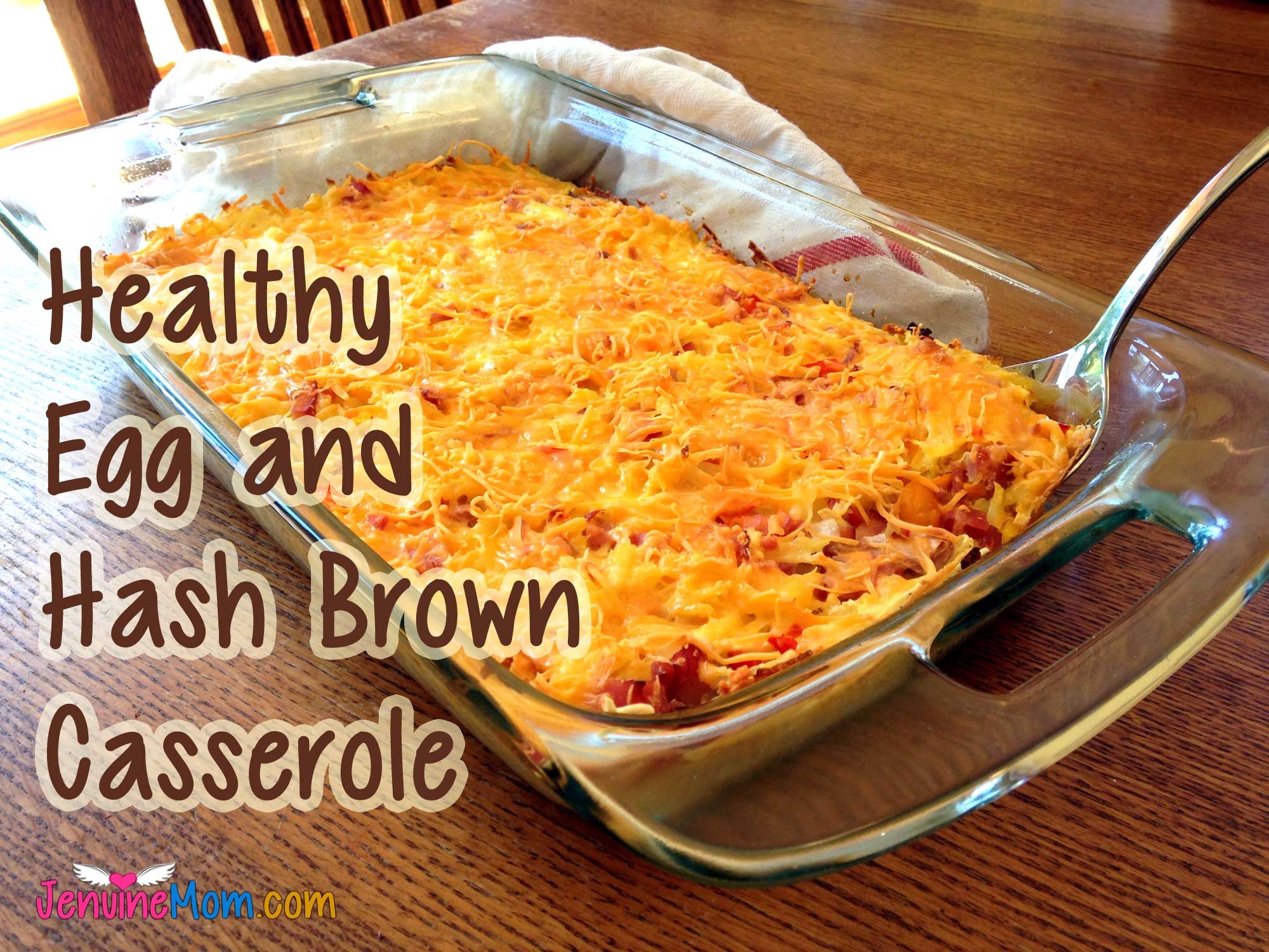 Breakfast Egg, Cheese, and Hash Brown Casserole: 100% Simply Filling Great Start to Your Day