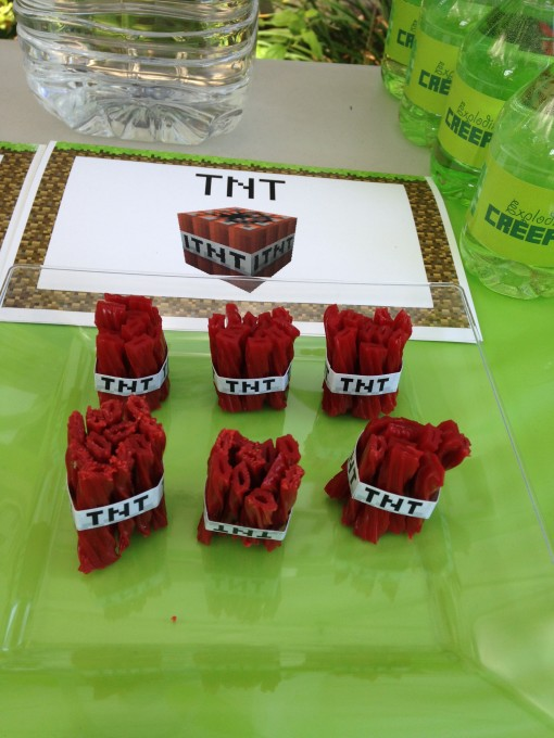 Minecraft party ideas, activities, and printables for my son's epic party that was prepared
