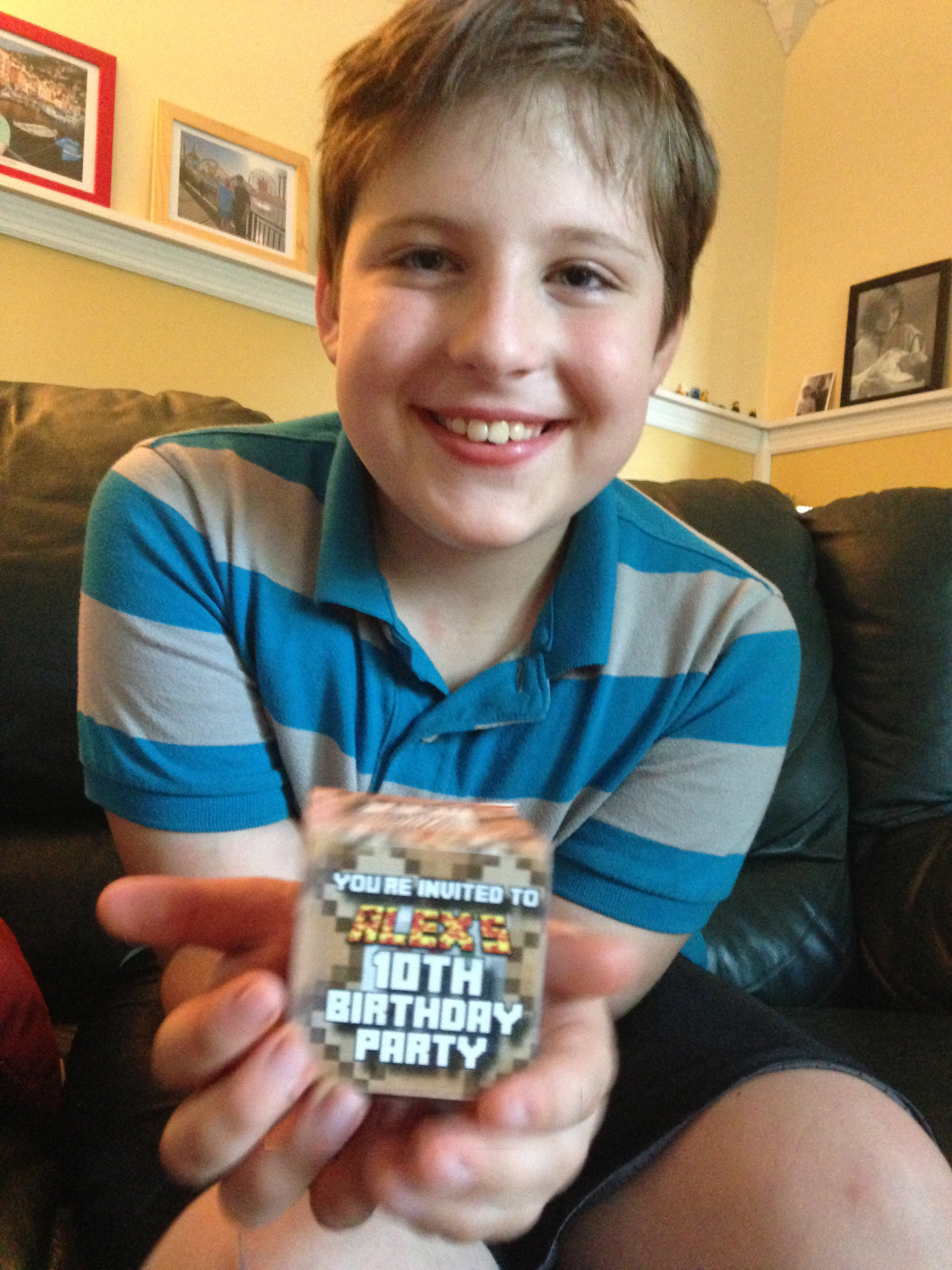 An Epic Minecraft Birthday Party With Games And