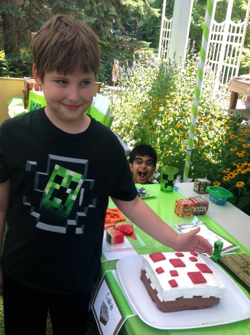 minecraft-party-photobomb