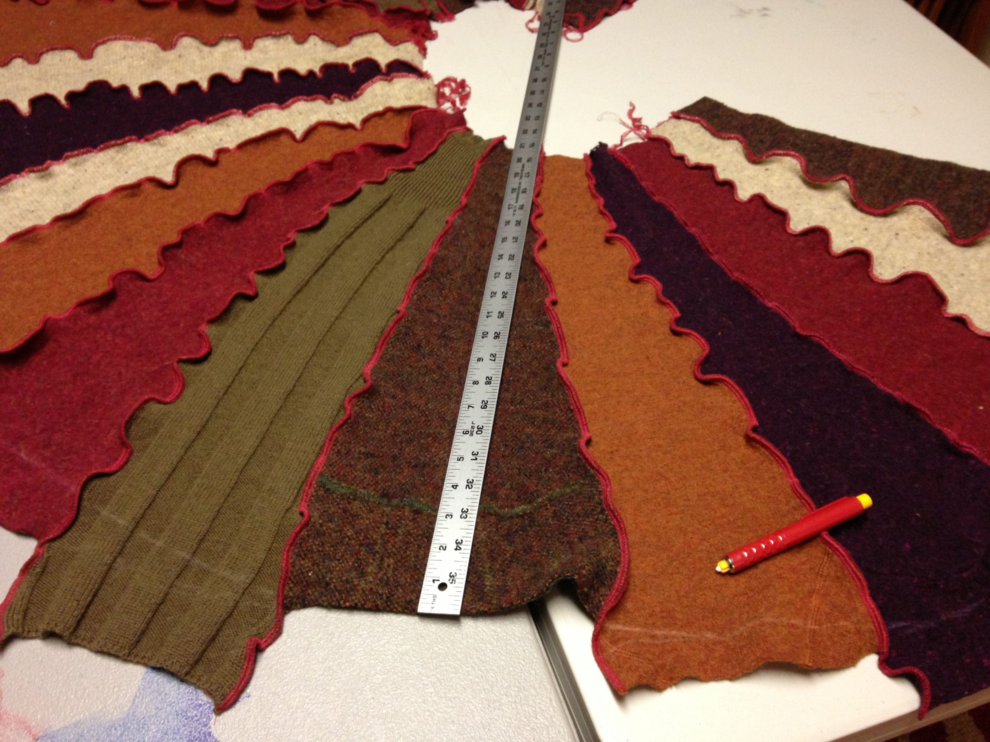 My Amazing Autumn-color Dreamcoat: A Journey to Make a Katwise ...