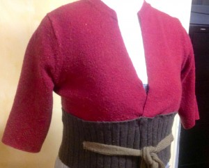 sweater-bodice