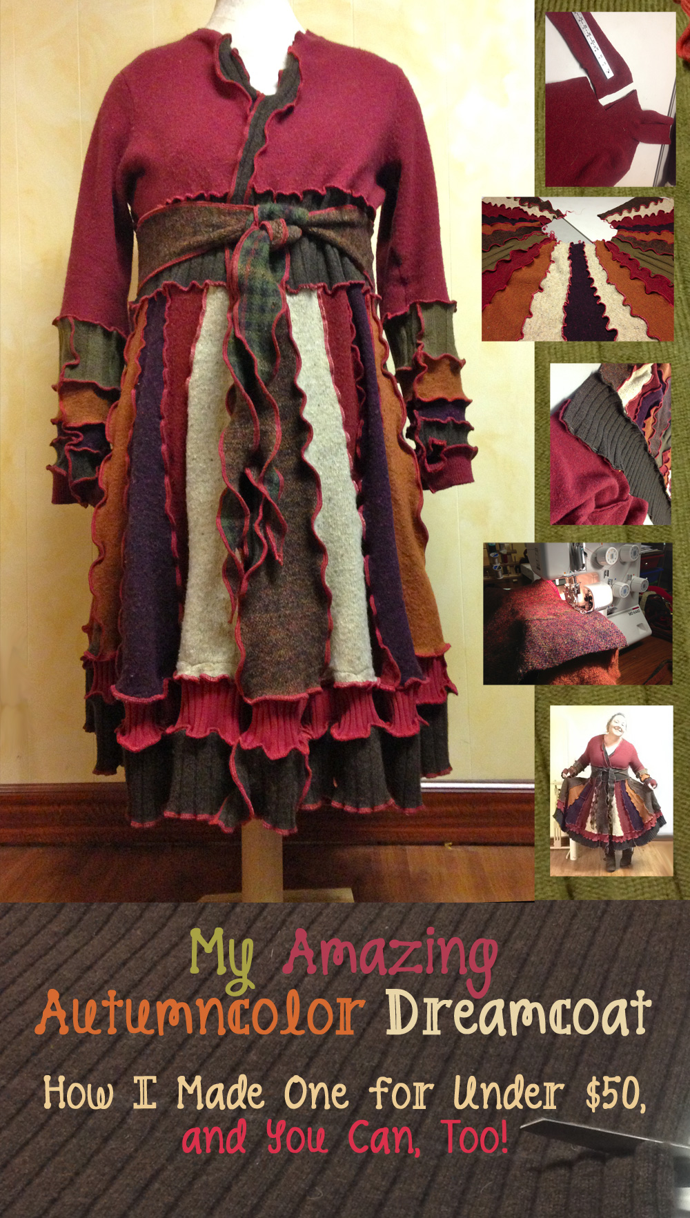 My Amazing Autumn-color Dreamcoat: A Journey to Make a Katwise
