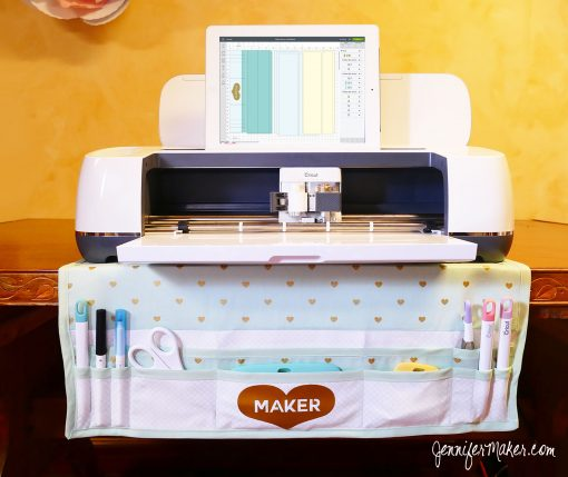 Maker Mat Tool Organizer & Dust Cover for the Cricut Maker