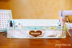 Maker Mat Tool Organizer & Dust Cover for the Cricut Maker