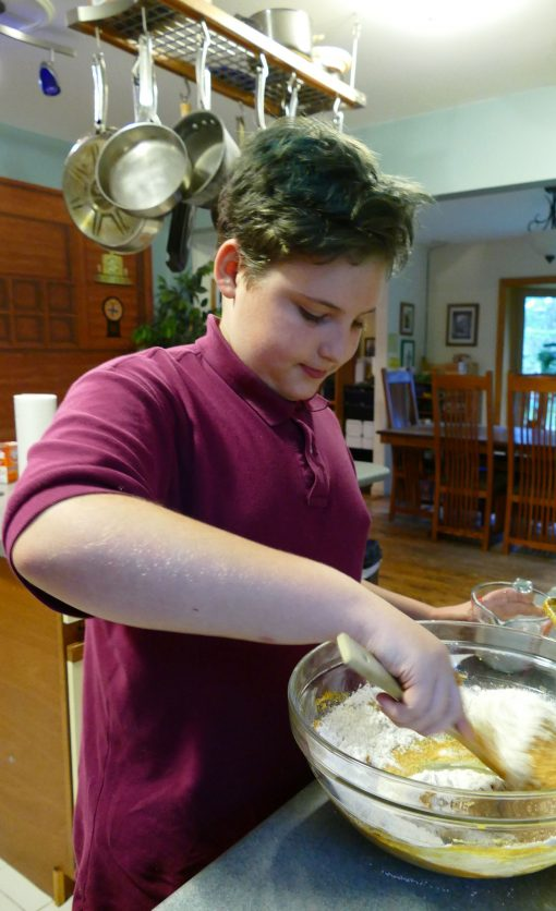 pumpkin cookies chocolate caramel flour