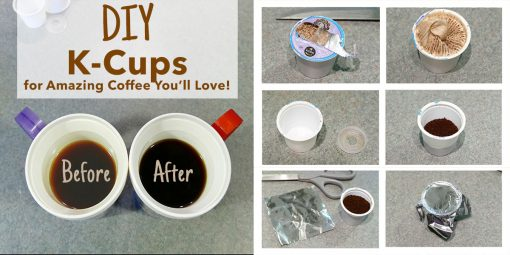 DIY K-Cups for Better Tasting Coffee | JenuineMom.com