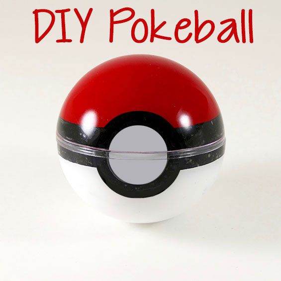 Diy Pokeball That Actually Opens Quick And Easy Jennifer Maker