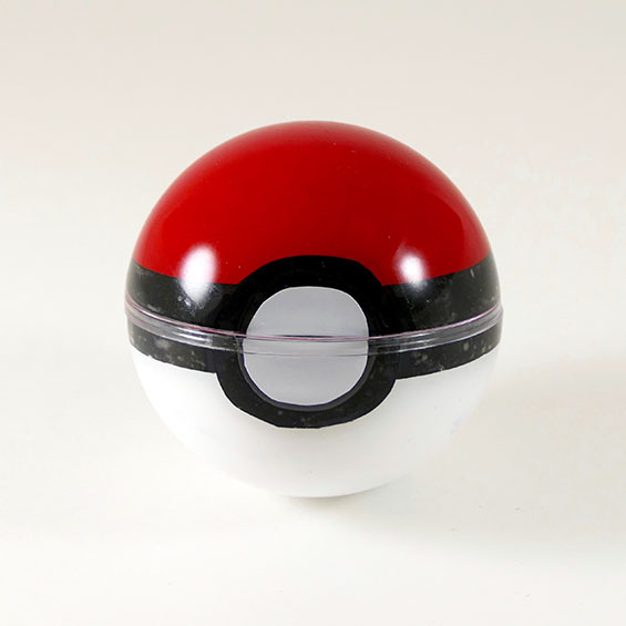DIY Pokeball: Hide Your Treasures Inside -- Great Birthday Invitation or Gift Box! | JenuineMom.com