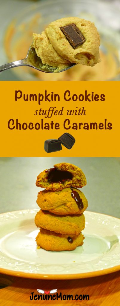 pumpkin-cookies-chocolate-caramels-gooey