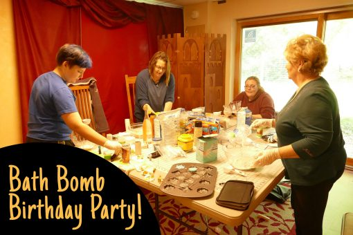 Bath Bomb DIY Birthday Party! Get the recipes and tutorial. | JenuineMom.com