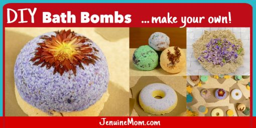 Bath Bomb DIY Tutorial | JenuineMom.com