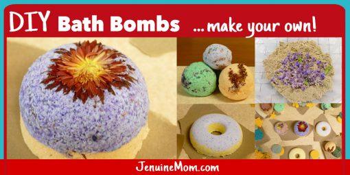 Bath Bomb DIY Tutorial | JenuineMom.com