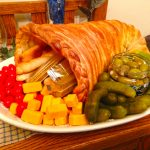 How to make an easy bread cornucopia for Thanksgiving!   JenuineMom.com