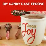 DIY Candy Cane Spoons: A Gift They'll LOVE!