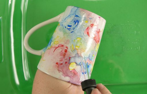 DIY Sharpie Mugs Tutorial | JenuineMom.com