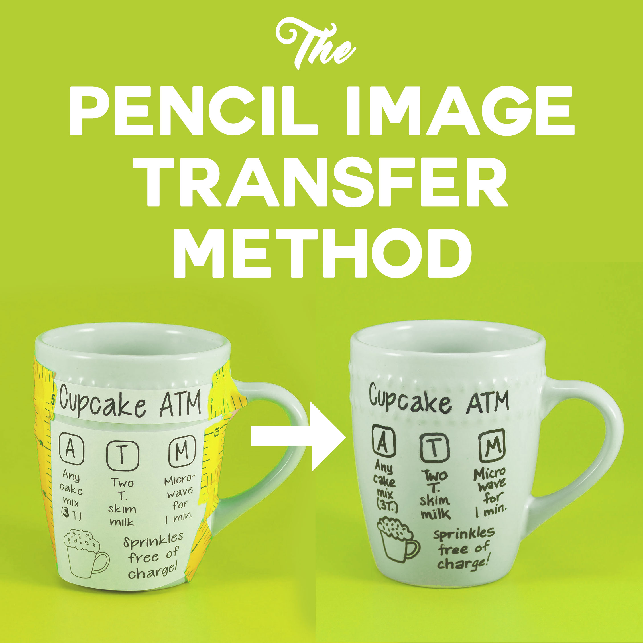 How to Use the Pencil Image Transfer Method for Great Results! | Tutorial | JenuineMom.com
