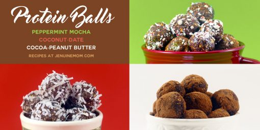 Protein Balls For Energy! | JenuineMom.com