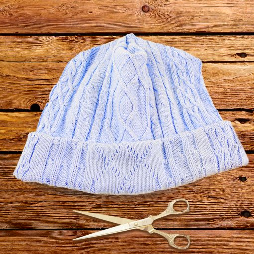 DIY Sweater Hat, Glove, & Scarf | Upcycle | Restyle | JenuineMom.com