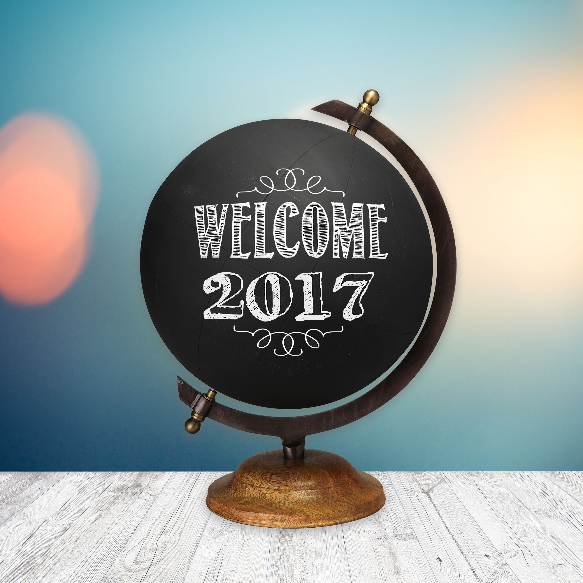 DIY Chalkboard Globe Preview   JenuineMom.com
