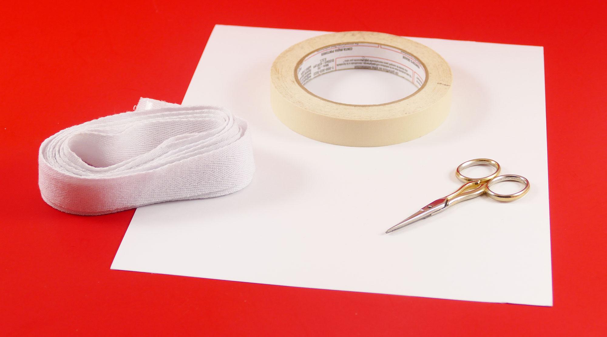 DIY Fabric Labels on Twill Tape - Jennifer Maker