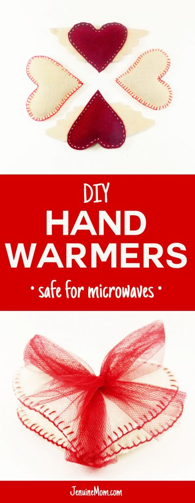 DIY Hand Warmers - Reusable & Safe for the Microwave | JenuineMom.com