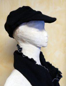 DIY Sweater Newsboy Hat | Upcycle | Restyle | JenuineMom.com