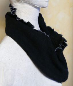 DIY Sweater Infinity Scarves | JenuineMom.com