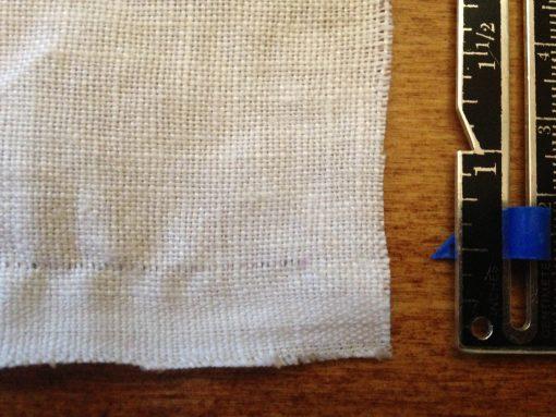 DIY Hand Hemstitched Handkerchief   Drawn Thread Work   JenuineMom.com