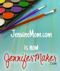 JenuneMom Becomes JenniferMaker