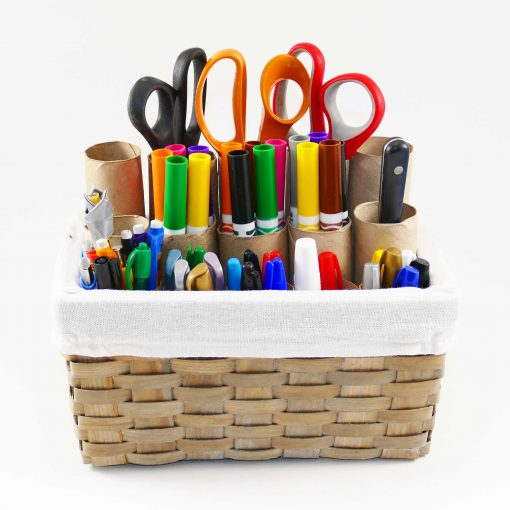 DIY Craft Organizer for Markers Brushes