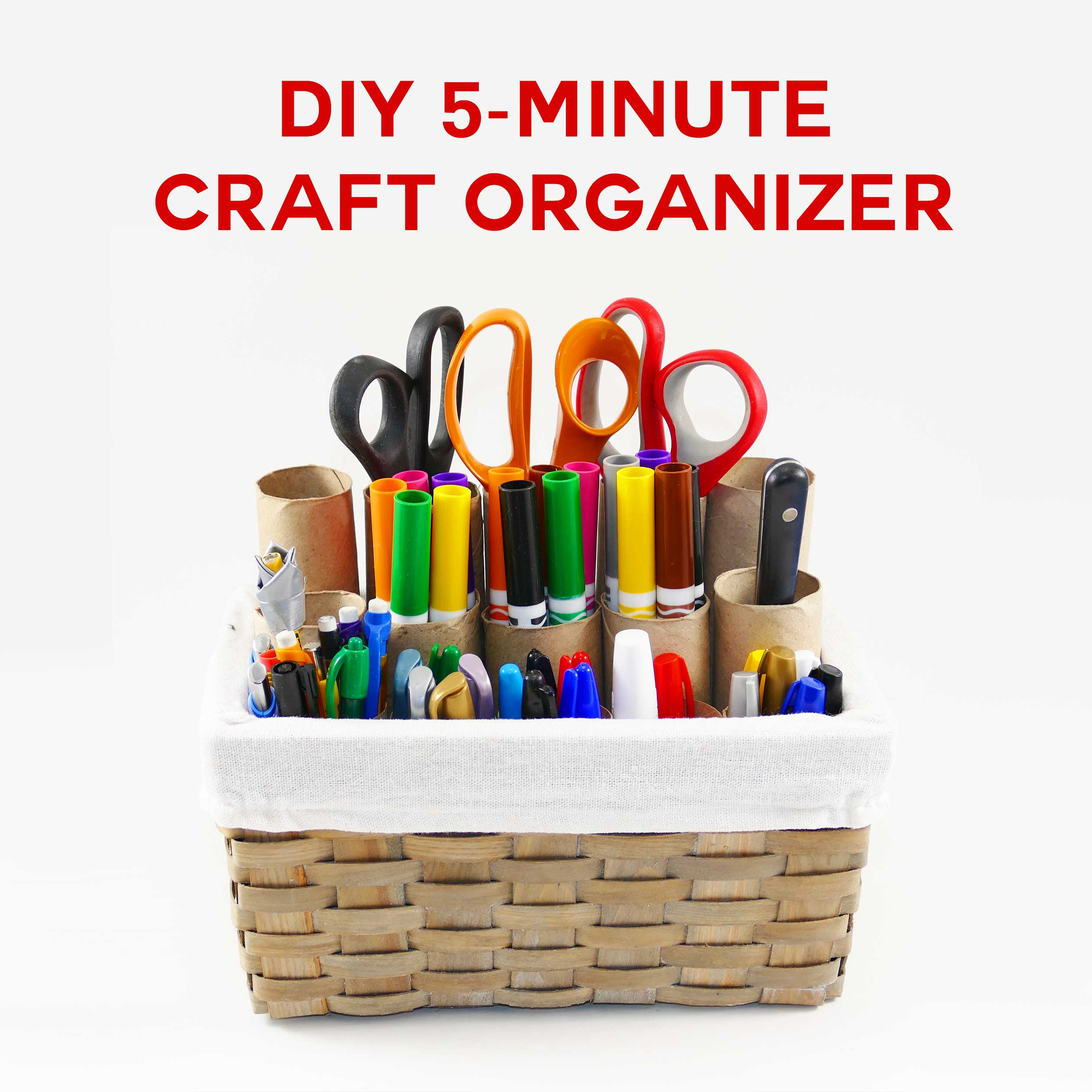 Diy Craft Organizer In 5 Minutes Jennifer Maker