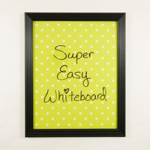 DIY Dry Erase Board From Dollar Store Finds | JenuineMom.com