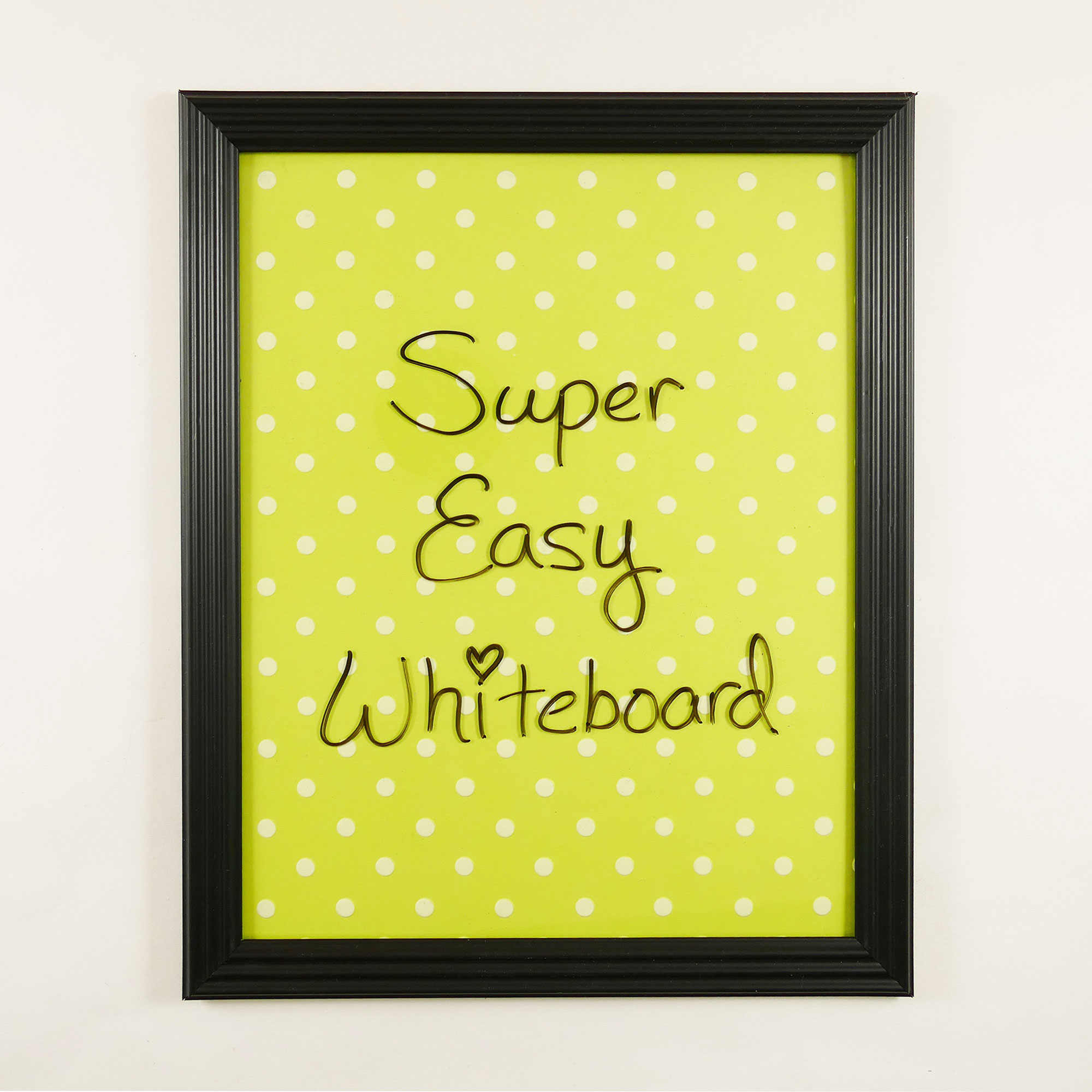 Diy Dry Erase Board So Simple Cute Jennifer Maker