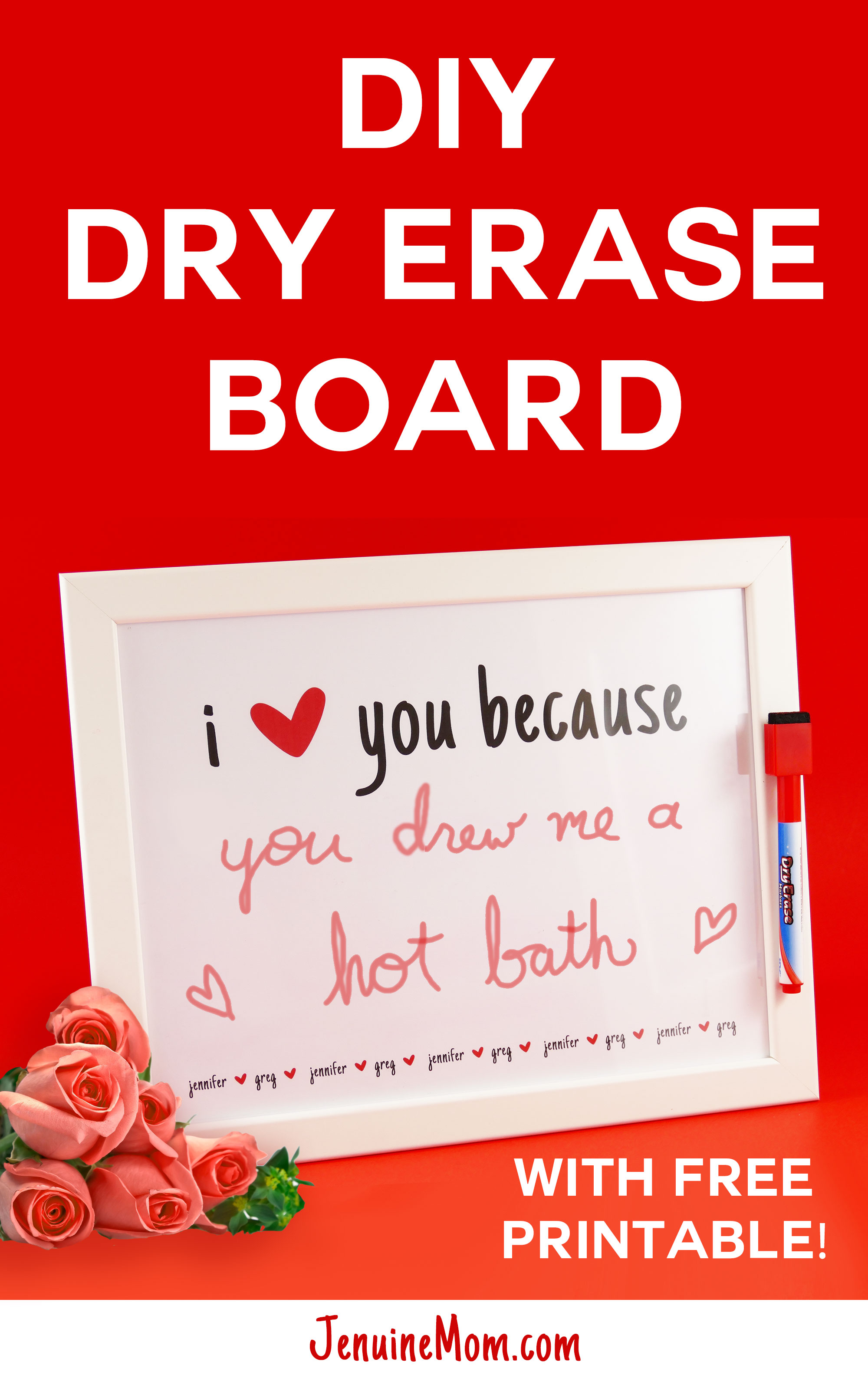 Diy Dry Erase Board So Simple Cute Jennifer Maker Building A Circuit Fun With Kids Pinterest Please Pin It To Your Favorite