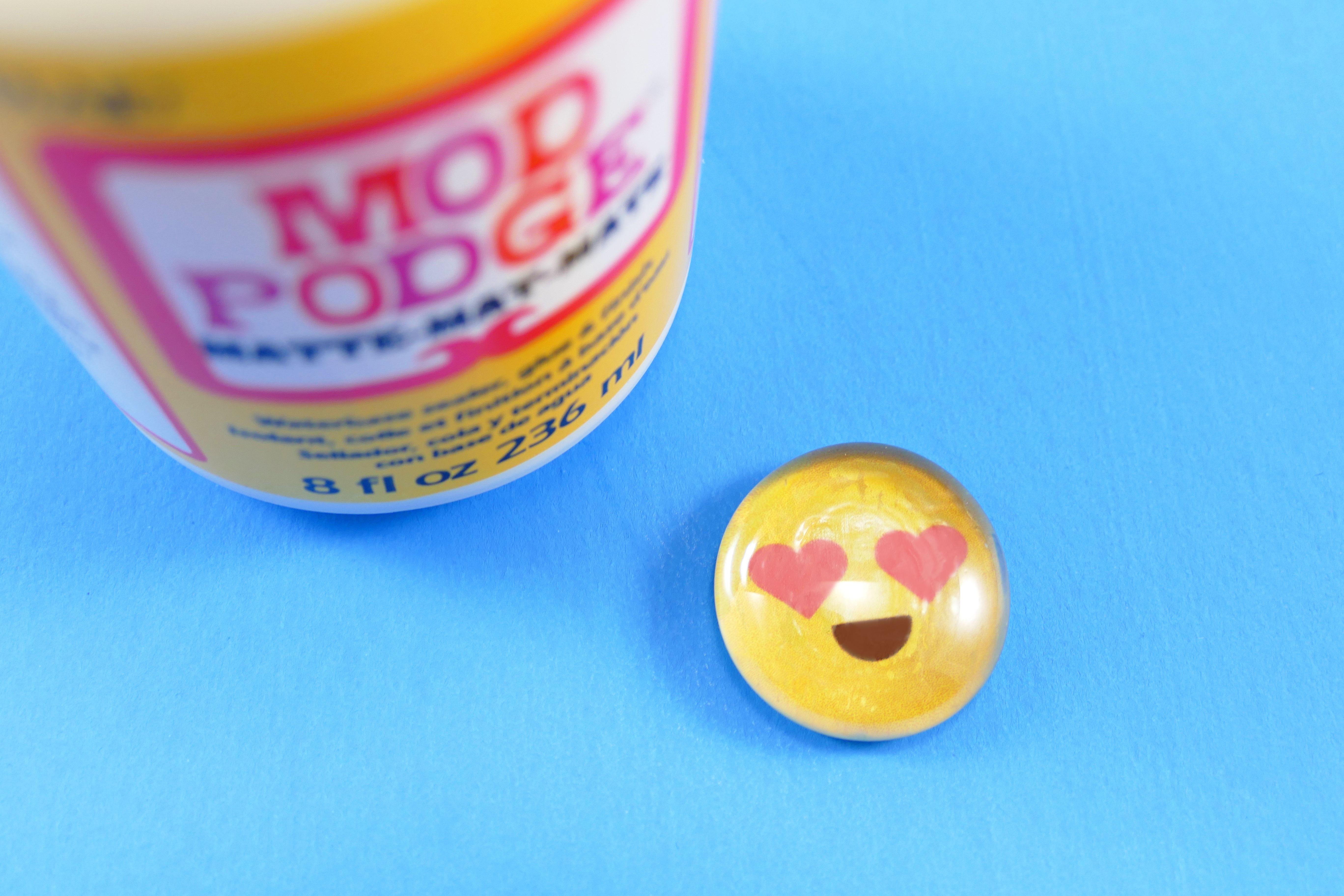 Diy Marble Magnets With Emoji Jennifer Maker