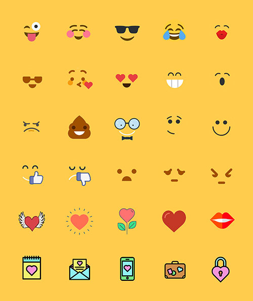 Free Emoji Printables for Crafts and Stickers| JenuineMom.com
