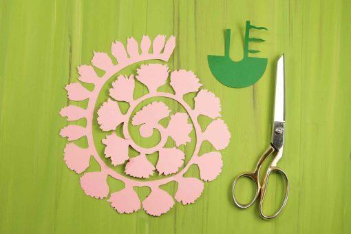 Rolled paper carnation tutorial free svg files for Rolled paper roses template