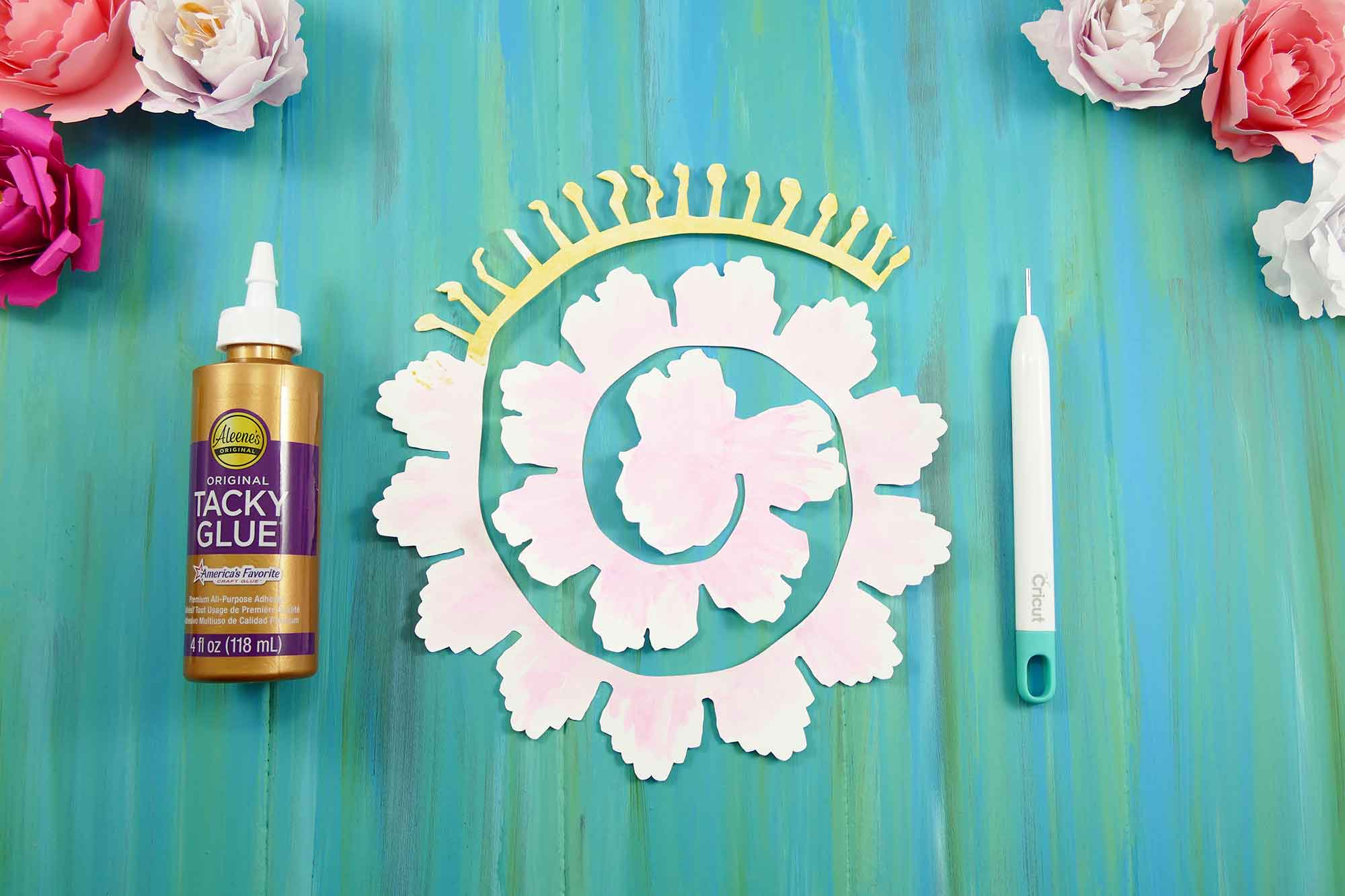 Rolled paper peony flower tutorial quilling jennifer maker rolled paper peony flower quilled flower diy paper flowers mightylinksfo