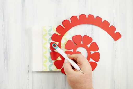 Rolled Paper Rose Flower | Quilled Flower | JenuineMom.com