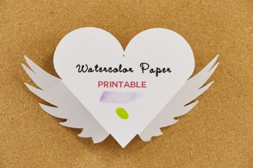 16 Best Paper Types for Every Craft | Watercolor Paper | JenniferMaker.com