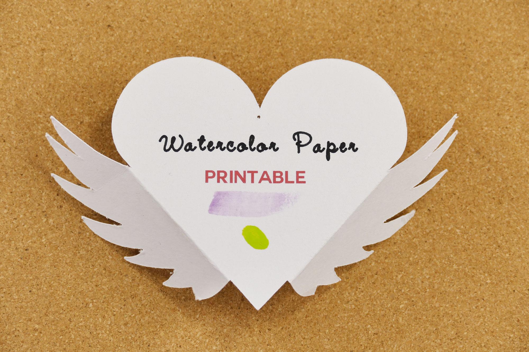 Best Paper Types Crafts Watercolor Front Jennifer Maker