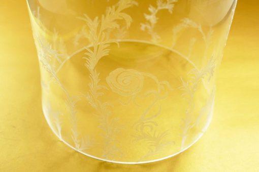 DIY Enchanted Rose | Disney's Beauty & the Beast | Decorated Bell Jar Cloche | JenniferMaker.com