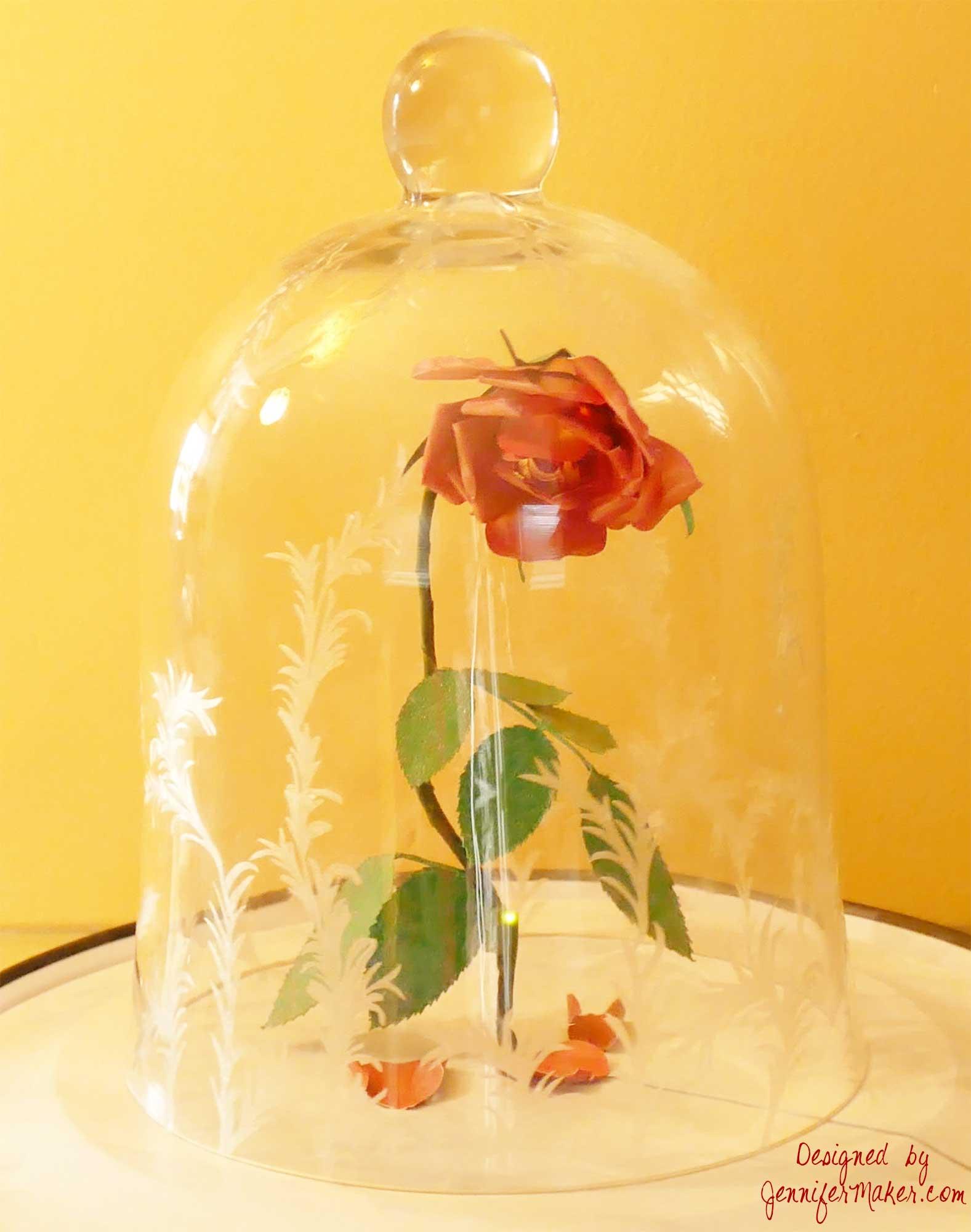 Diy Enchanted Rose Light Jennifer Maker