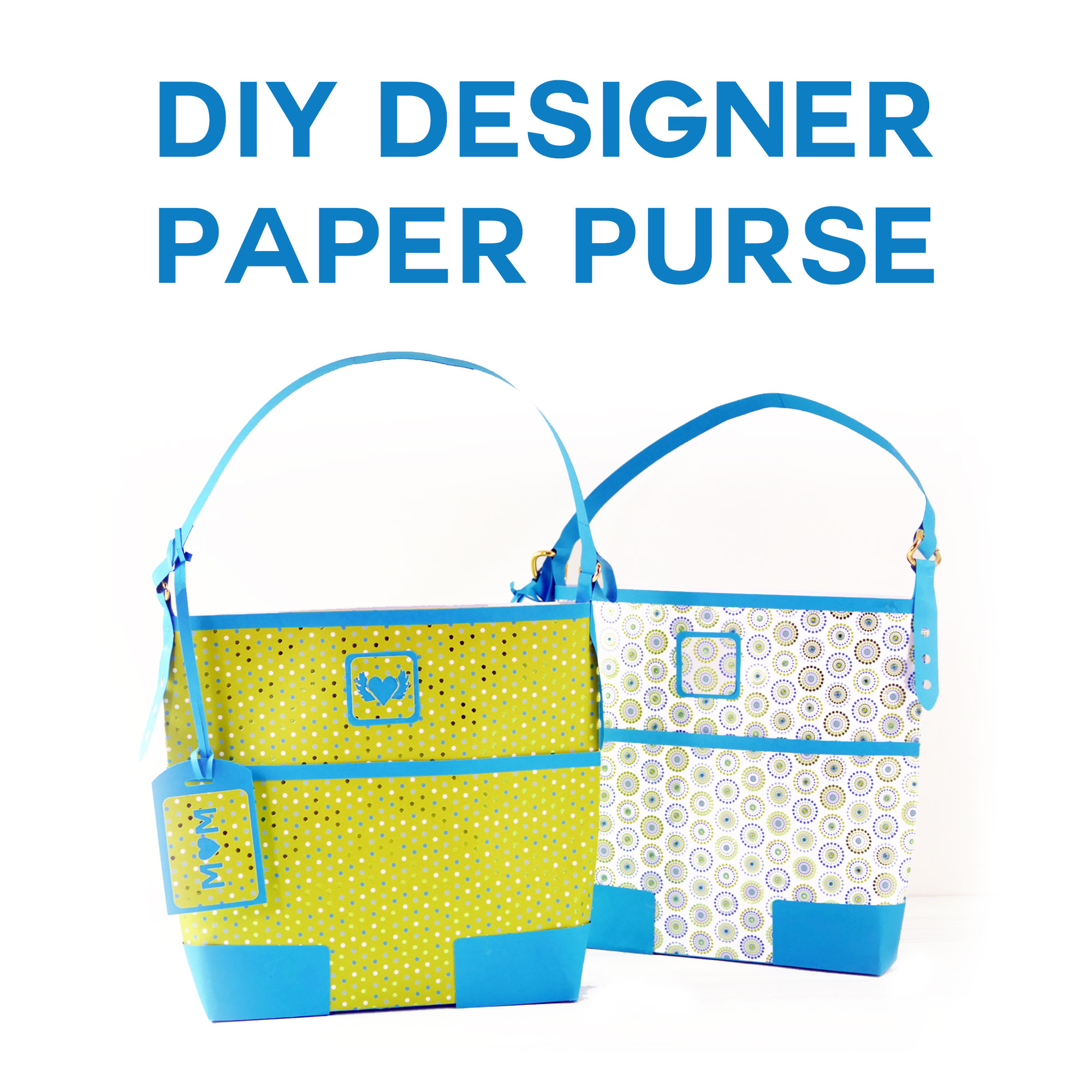 3a46e1c43796 DIY Designer Paper Purse Makes a Gorgeous Gift Bag! - Jennifer Maker