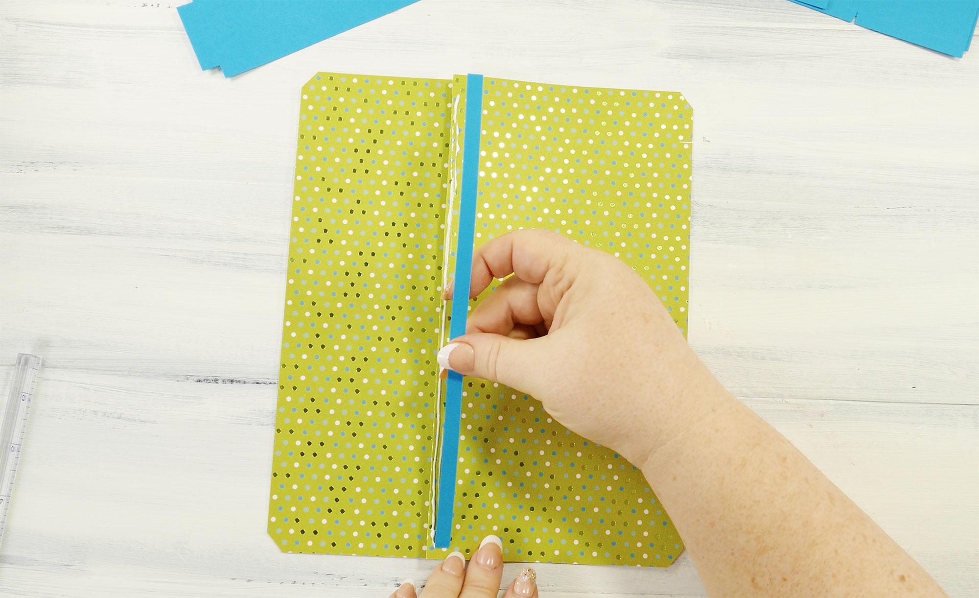 Diy Designer Paper Purse Step3 Jennifer Maker