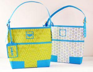 DIY Designer Paper Purse Gift Bag - Tutorial & SVG File | JenniferMaker.com